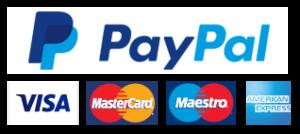 PayPal Visa Mastercard Maestro